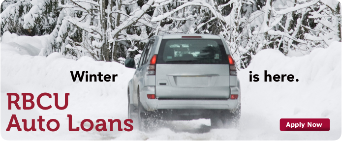 winter is here auto loan banner