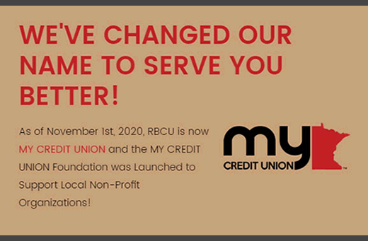 my credit union message